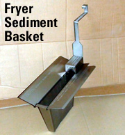 fryer sediment basket